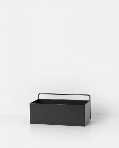 ferm living wallbox rect black 3348 1
