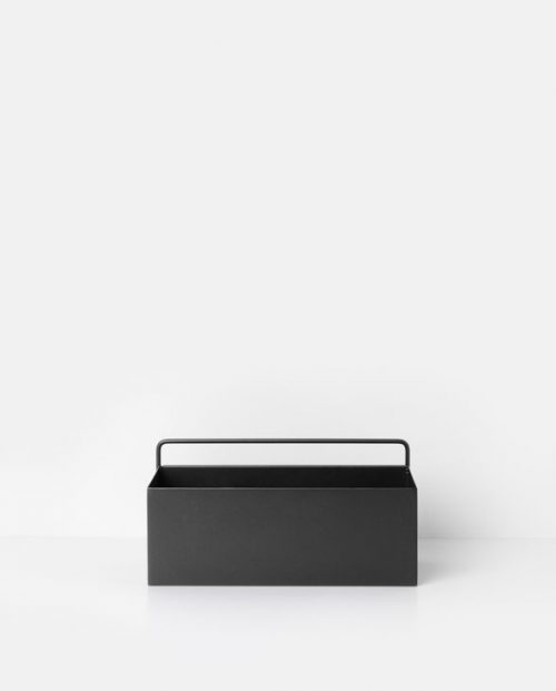 ferm living wallbox rect black 3348 2