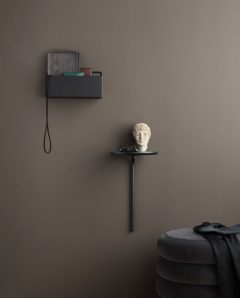 ferm living wallbox rect black 3348 3