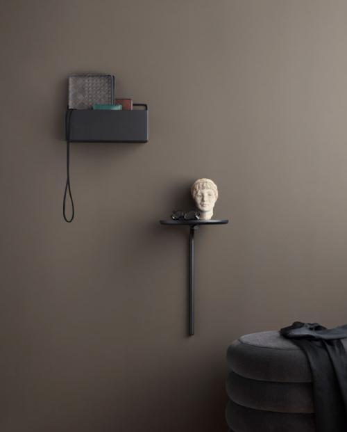ferm living wallbox rect black 3348 3