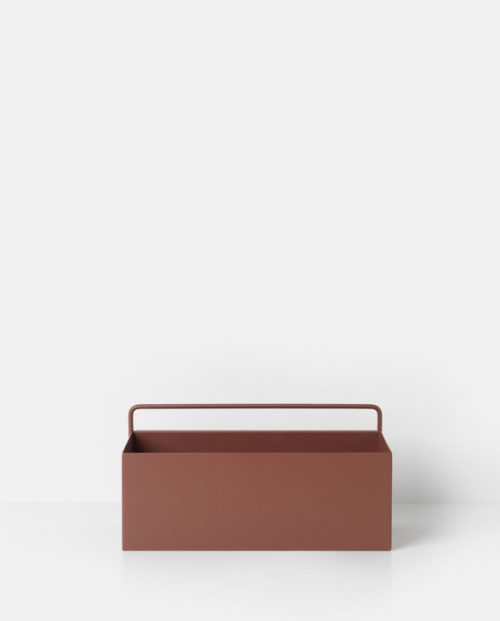 ferm living wallbox redbrown 3351 1