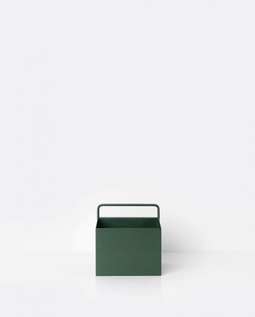 ferm living wallbox square green 01