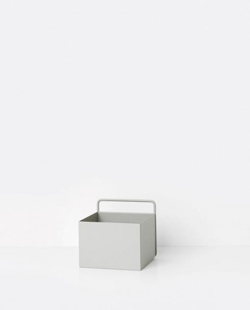 ferm living wallbox square grey 01