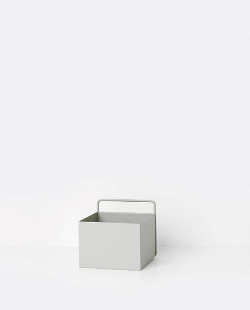 ferm living wallbox square grey 01