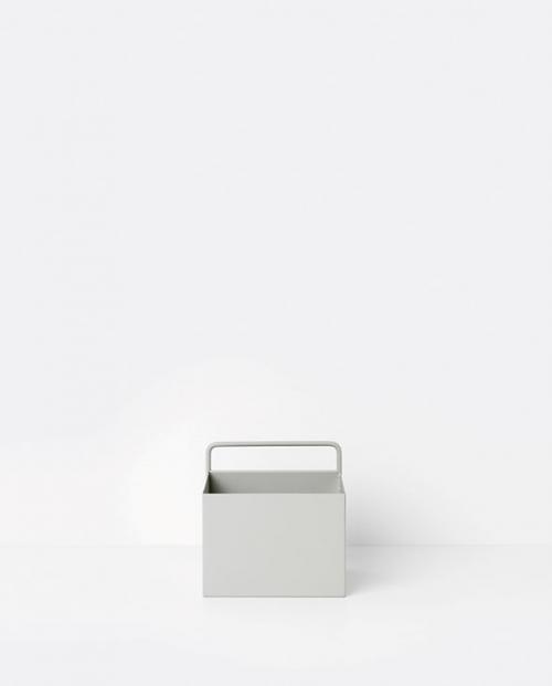 ferm living wallbox square grey 02