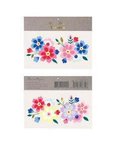 Meri Meri Tattoos Kashmiri Flowers 174763a