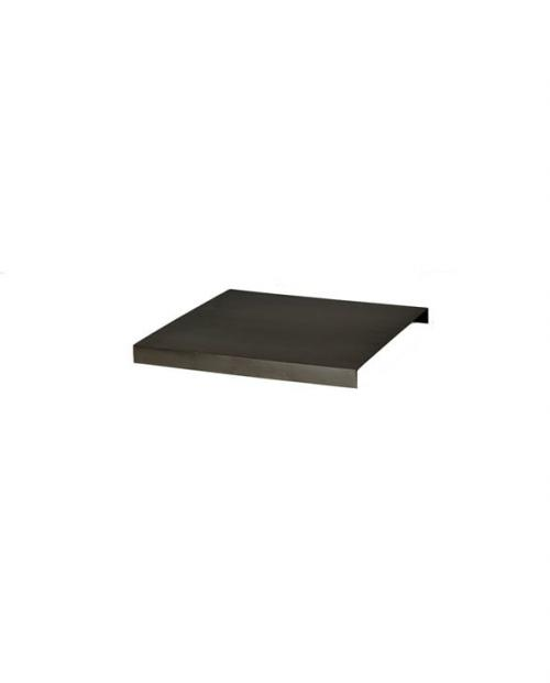 ferm living Tray For Plant Box Black Brass 5752