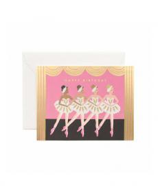 Rifle Paper Karte ballet birthday