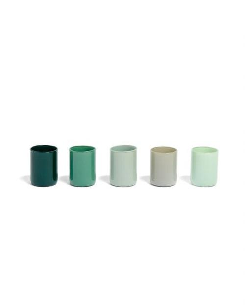 HAY 507471 Spot Votive Set of 5 green