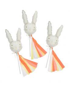 Meri Meri 185266 mini bunny balloons 01