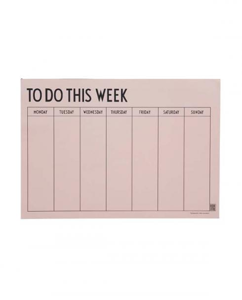 Design Letters weekly planner pink 01 1