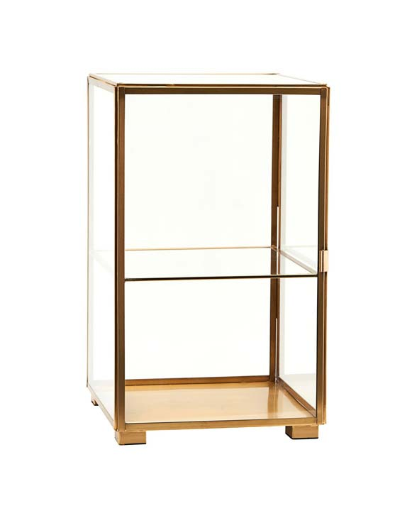 mittleres räder Design Glashaus zuhause Häuschen Glas Deko 11x11cm Vitrine