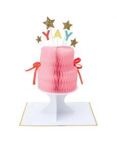 MeriMeri Karte yay cake 02