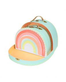 Meri Meri Rainbow suitcase 173908a