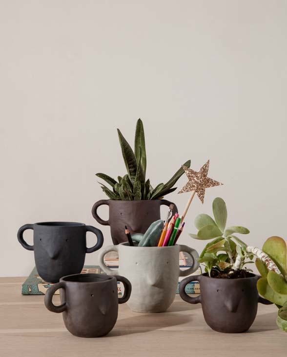 ferm Living Mus plant pot large 100100 104 02