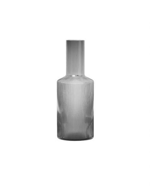ferm Living Ripple grey carafe 100125112