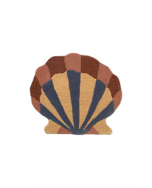 ferm Living tufted rug shell 100098 651 01