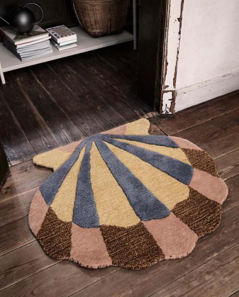 ferm Living tufted rug shell 100098 651 02