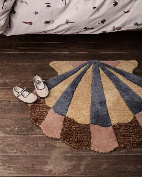 ferm Living tufted rug shell 100098 651 03