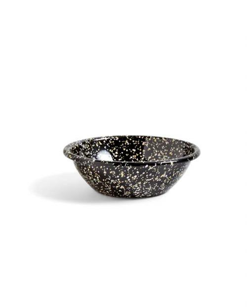 HAY 506958 Enamel Serving Bowl Sprinkle black 01
