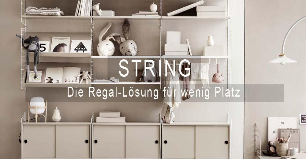 String Regal System bei SEIN & HABEN