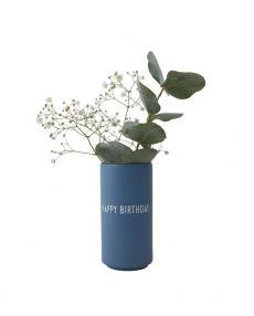 Design Letters Farvourite Vase happy birthday 10101005BLUE 03