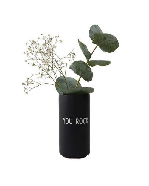 Design Letters Farvourite Vases you rock 10101005BLACK 02