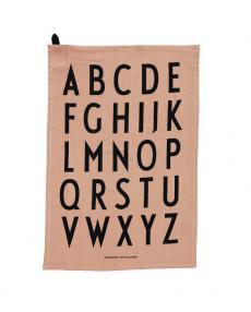 Design Letters Geschirrtuch A Z Classic 2erSet 10503000NUDE 01