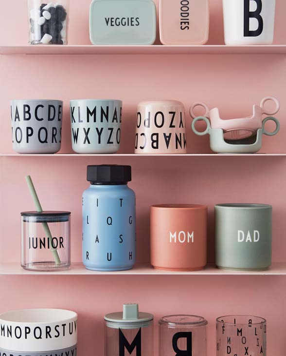 Design Letters favourite cup mom dad melamin cup