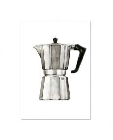 Leo la Douce Art Print 091 Espresso Maker II
