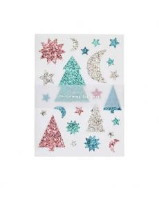 Meri Meri sticker festive trees xmas