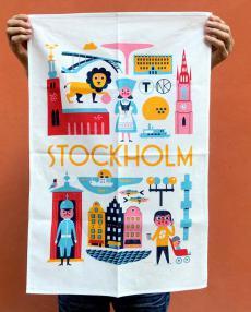 OMM Design geschirrtuch stockholm
