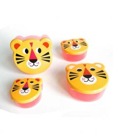 OMM Design snackbox tiger 4erSet