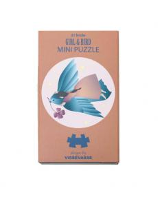 VisseVasse Mini Puzzle girl bird 1