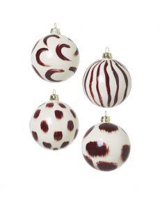 ferm LIVING Weihnachtskugeln rotbraun 1006022777 1