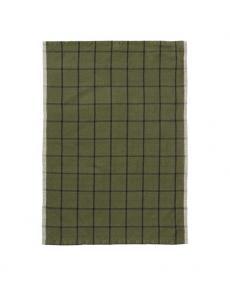 ferm living hale tea towel green 100089 655