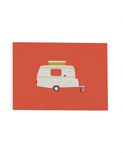 Roadtyping postkarte wohnwagen