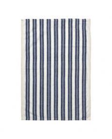 ferm living Hale Yarn tea towel blue striped 100089 658