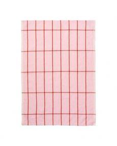 ferm living Hale Yarn tea towel rose rust 100089 648