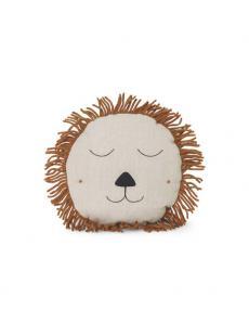 ferm living Safari cushion Lion natural 01
