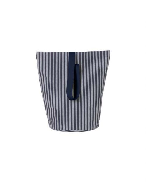 ferm living chambray basket striped L 9468