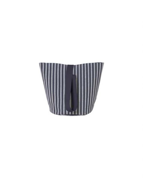 ferm living chambray basket striped M 9467
