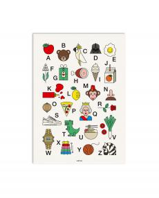 redfries Artprint 0267 happy abc 01