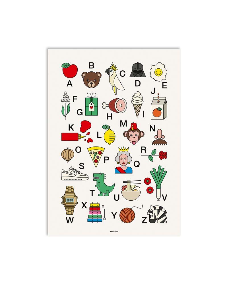 redfries Artprint 0267 happy abc 01