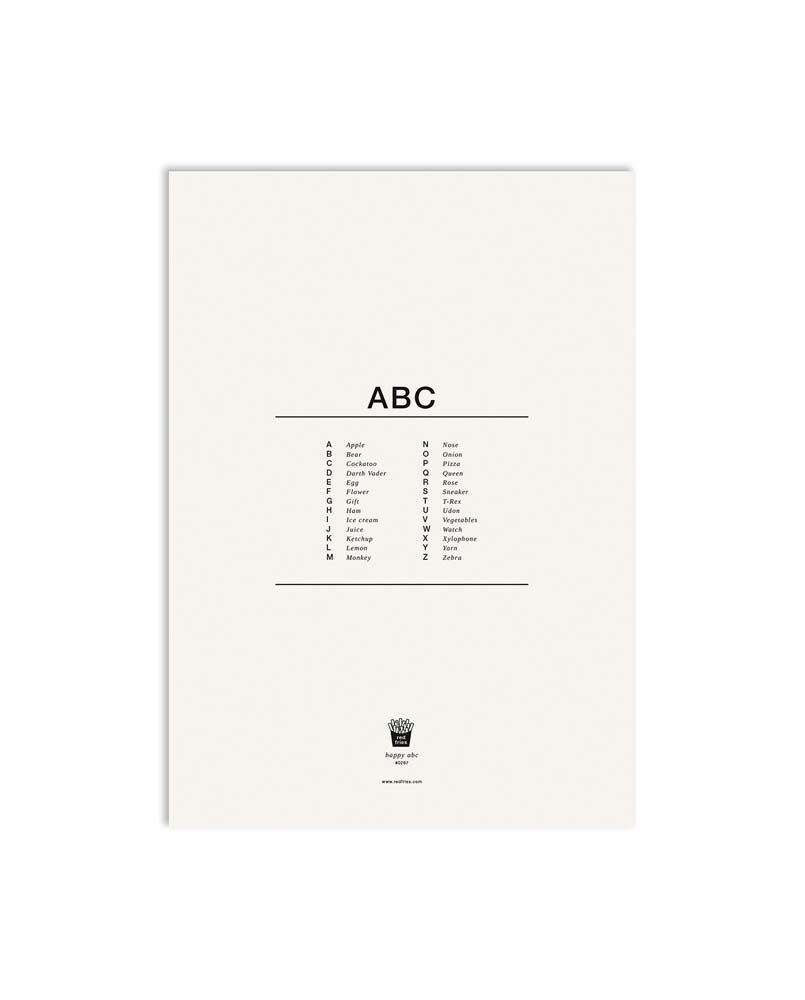 redfries Artprint 0267 happy abc 02