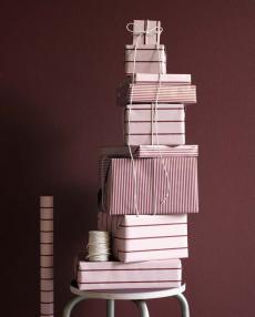 Monograph Geschenkpapier Stripes rosa mgfe0190 02