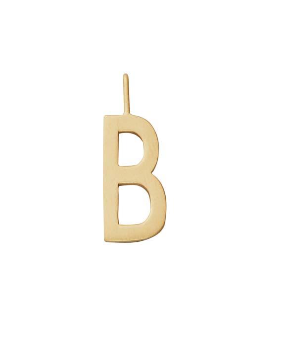 Design Letters Schmuck Anhaenger A Z 16mm B