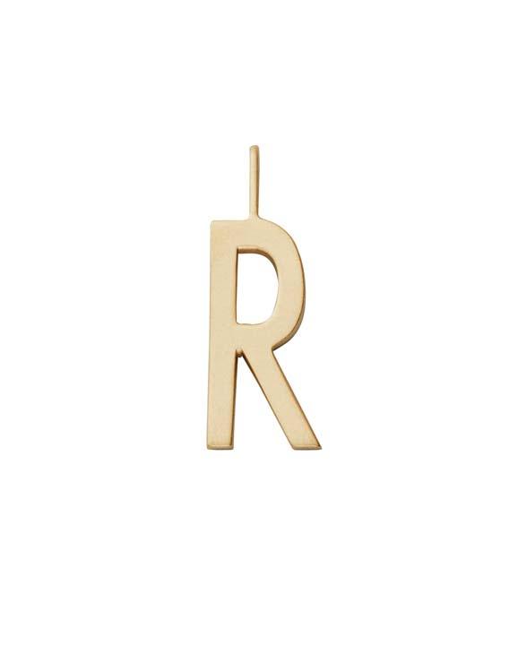 Design Letters Schmuck Anhaenger A Z 16mm R