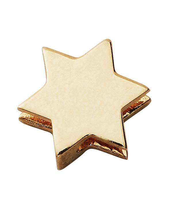 Design Letters Schmuck Kette Charm Stern gold