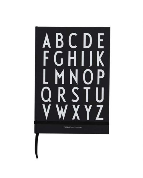 Design Letters Notizbuch ABC 70302003BLACK 01